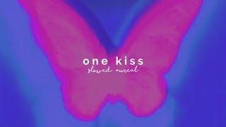 calvin harris & dua lipa - one kiss (slowed + reverb)