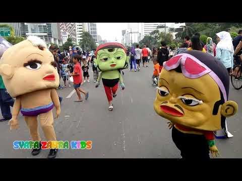 Video LUCU Badut Mampang JOGET GAYA Baru 2018
