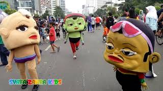 Single Terbaru -  Video Lucu Badut Mang Joget Gaya Baru 2018