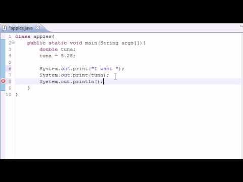 java-programming-tutorial---5---variables