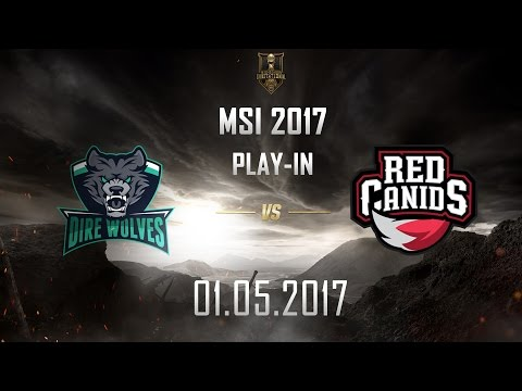 [01.05.2017] DW vs RED [MSI 2017][Play-in]