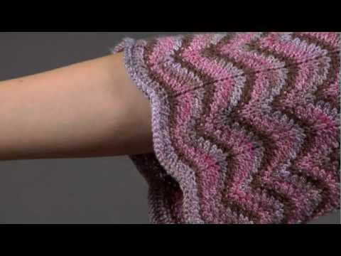 17 Ripple Pattern Cardigan Vogue Knitting Spring Summer