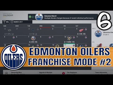 SEASON ON THE LINE | NHL 17 Edmonton Oilers Franchise Mode Ep 6