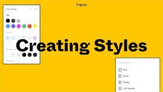 Figma Tutorial: Creating Styles