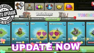 UPDATE IS HERE NOW😍 UPDATE CLASH OF CLANS😘🇳🇵JaY Nepal🇳🇵