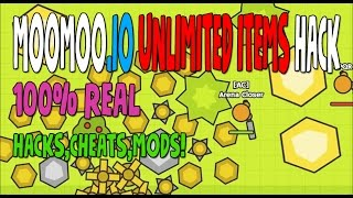 MOOMOO.io UNLIMITED ITEMS HACKS,CHEATS %100 REAL MODS! starve.IO glor.IO HACKER