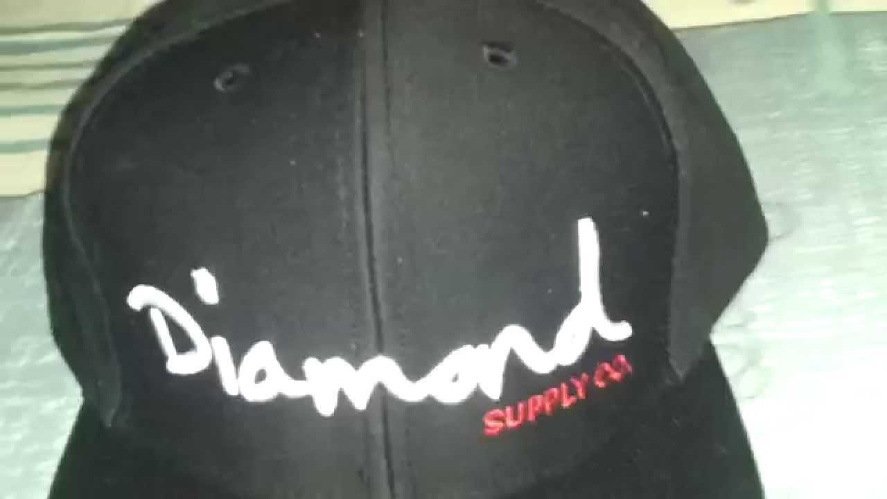 fbbf2000cd0 Gorra DIAMOND SUPPLY SCRIPT SNAPBACK BLACK WHITE SCRIPT - YouTube