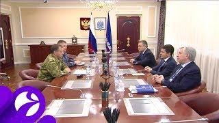 Губернатор Ямала провёл рабочую встречу с командующим Уральским округом войск Росгвардии