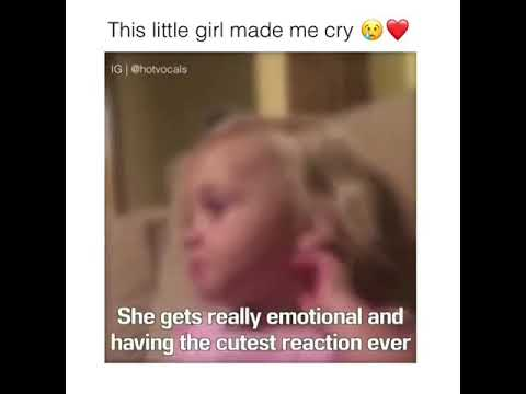 This little girl made me cry