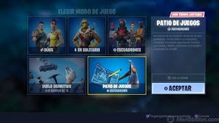 "Playing The New Mode ""Playground"" Fortnite:Battle Royale+Sorteo 1000 turkeys(v-bucks)"
