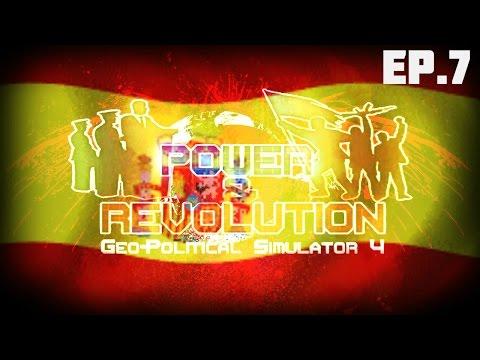 Geopolitical Simulator 4 FR (Power & Révolution) ESPAGNE S02 EP.7: LES CÉLÉBRITÉS !