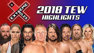 Booking WWE Extreme Rules! | WWE 2018 (Total Extreme Wrestling)