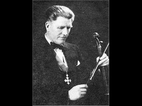 Albert Sammons - Bruch: Violin Concerto #1 (entire)