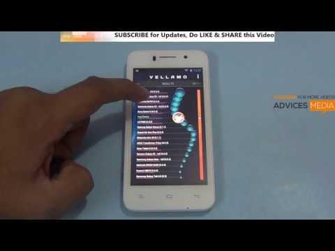 Xolo Q800 Benchmark Tests Antutu & Vellamo Scores