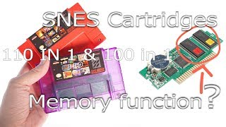 110 in 1  SNES 2GB flash cart for the Super Nintendo review (2018 Edition)