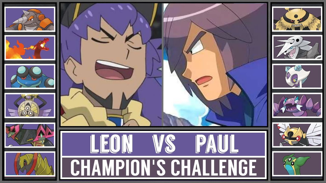 Pokémon Champion's Challenge: LEON vs PAUL