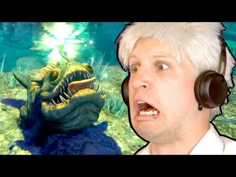 GIANT CAVE FULL OF MONSTERS THAT EAT YOUR FACE!!! | ARK Aberration