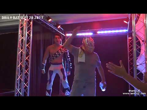 HAIR VS HAIR MATCH FROM 2016! DJZ BACK ON COMMENTARY   daily DJZ 9/28/17