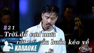 Karaoke Chôn Vùi Cuộc Tình (Tone Nam) - Quang Lập | Nhạc Vàng Bolero Karaoke