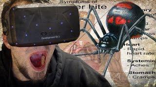 Arachnophobia | Oculus Rift DK2 | SPIDERS EVERYWHERE!!