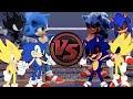 SONIC vs SONIC.EXE: ALL ROUNDS! Sonic The Hedgehog Cartoon Rap Battle   CARTOON RAP ATTACK!