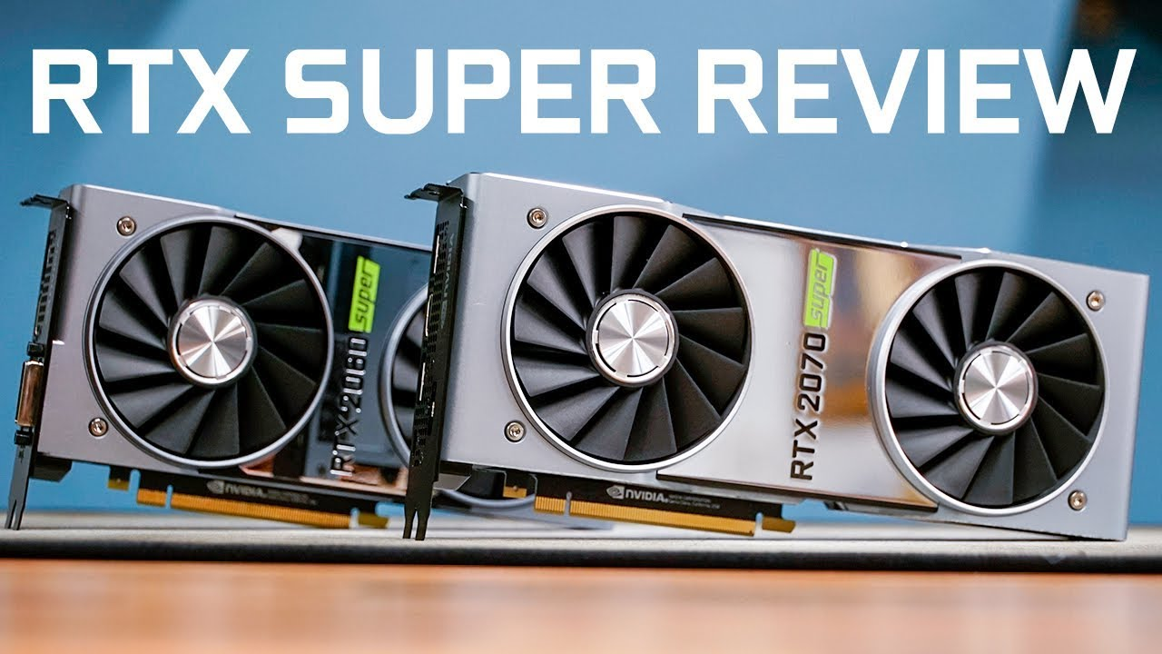 Nvidia Geforce Rtx 2070 Super Founders Edition Review Bit Tech Net