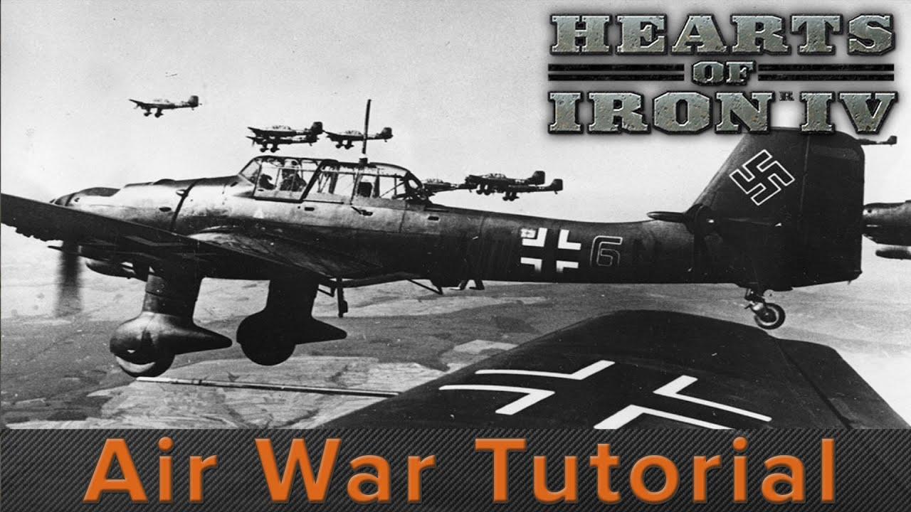 Hearts of Iron 4: Air War Tutorial