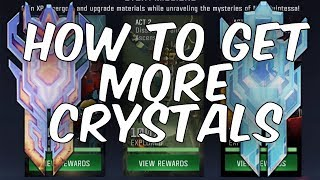 HOW TO GET MORE CRYSTALS! 5 STAR CRYSTALS + MORE! - Transformers: Forged To Fight