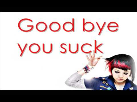 Goodbye You Suck By Shiloh 102