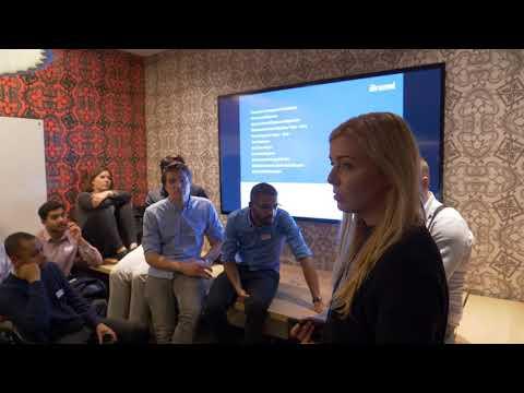 Brunel.net holding a presentation at Amsterdam Tech Job Fair - 29th November 2017