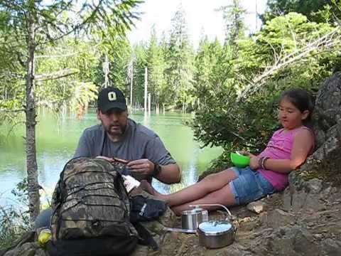 Waterside Lunch with Granddaughter & Dpower Stove
