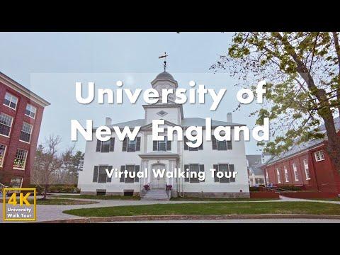 University of New England (Portland Campus) - Virtual Walking Tour [4k 60fps]