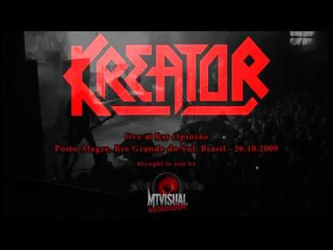 KREATOR - Live at Bar Opinião - Porto Alegre [2009] [FULL SET]