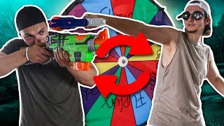 NERF ROULETTE CHALLENGE !!