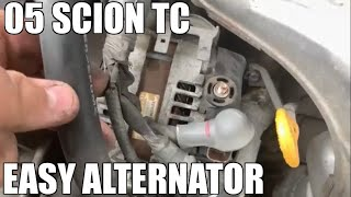 How to Replace Alternator in a Scion TC 2004-2010