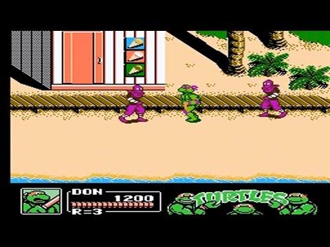Teenage Mutant Ninja Turtles 3 Walkthrough