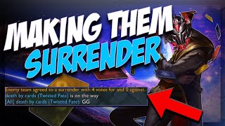 DESTROYING CHASE SHACO AND CHALLENGER PLAYERS WITH AD AND AP TWISTED FATE IN BACK TO BACK GAMES!