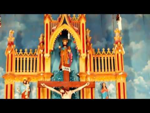 Mayyanad Saint Jacob's church 2017 condition. Colour Video