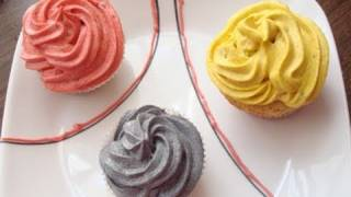 Vegan Peach Cake Cupcakes Recipe with Vegan Brown Sugar Buttercream Frosting - Vegan Dessert Recipes