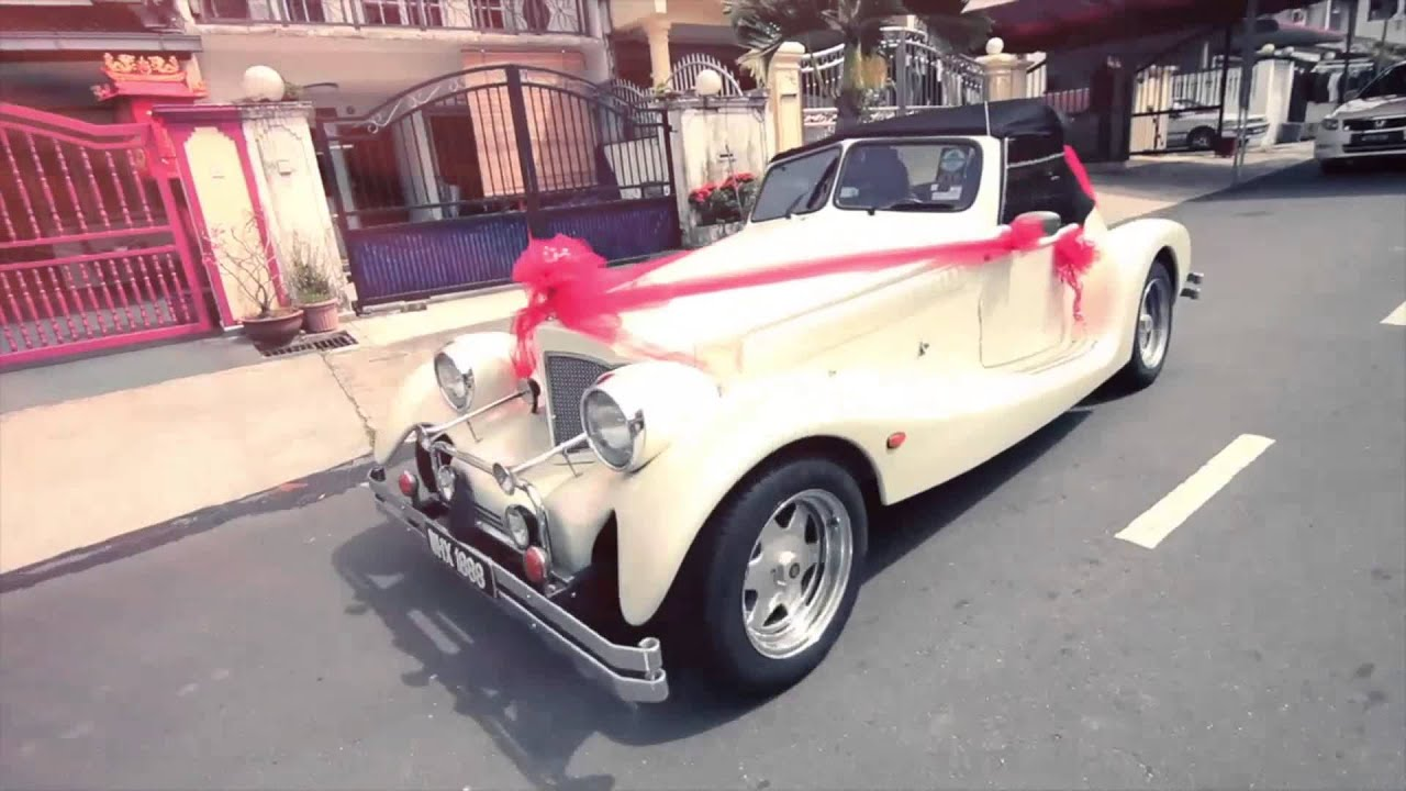 Classic wedding Car For Rent - KL Malaysia - YouTube