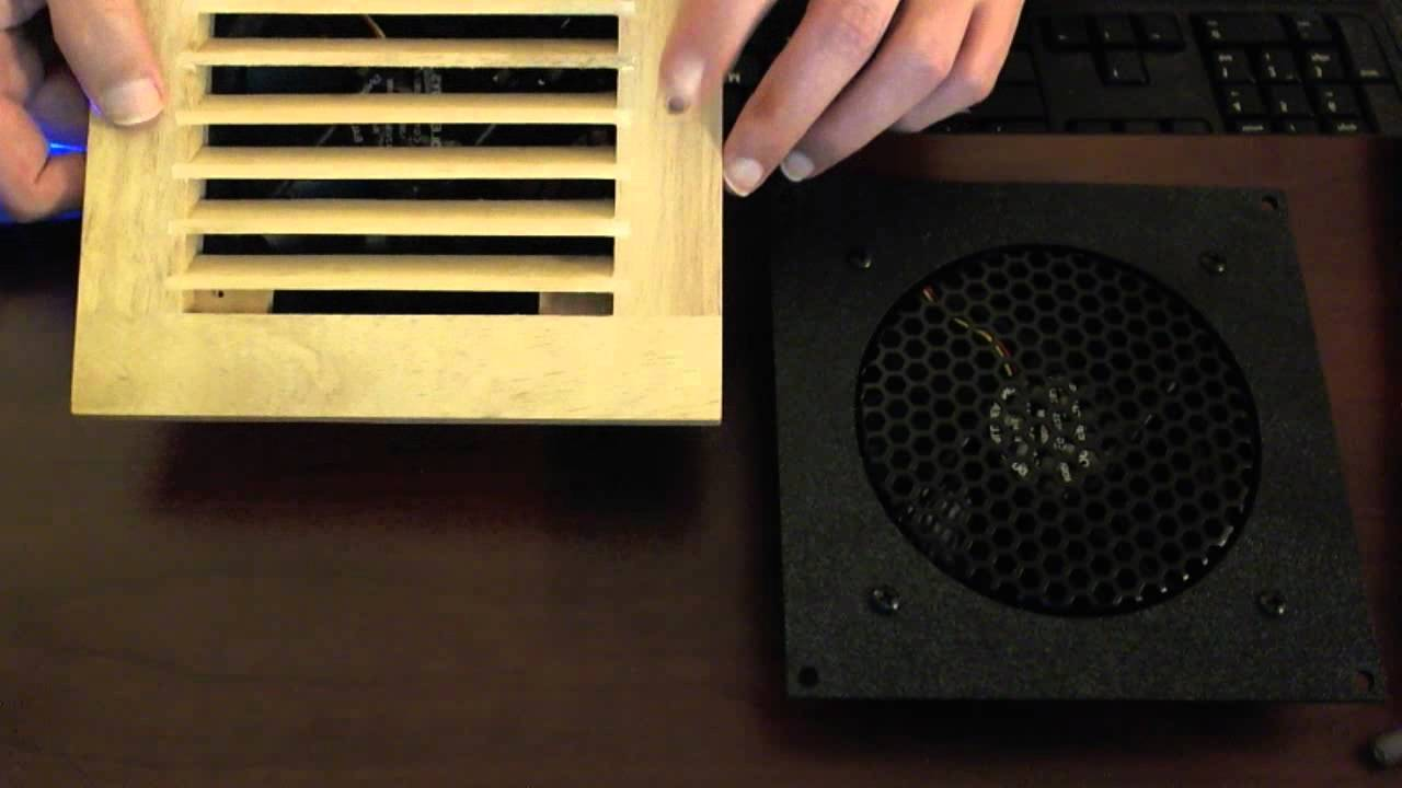 Coolerguys Fan Kits for AV Cabinets - YouTube
