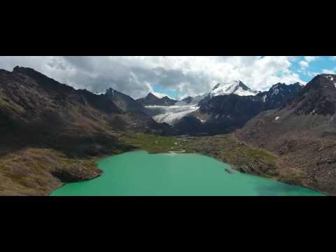 Ala kul Lake. Kyrgyzstan. By M.Elbangy