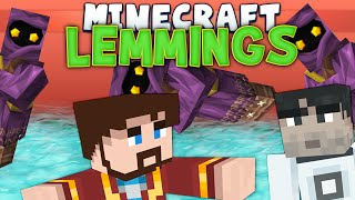 Minecraft Minigames - Lemmings #2 - Games With Sips