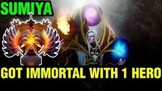 Got Immortal With 1 Hero - Sumiya Invoker - Dota 2