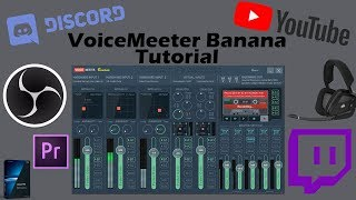 How To Setup VoiceMeeter Banana with OBS To Have Separate Audio Tracks For Game, Discord, And Mic