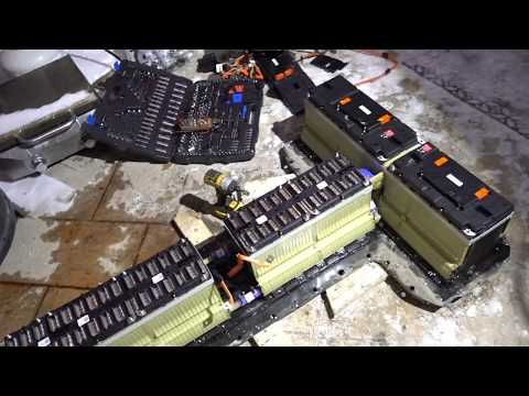 Chevrolet Volt Battery Tear Down