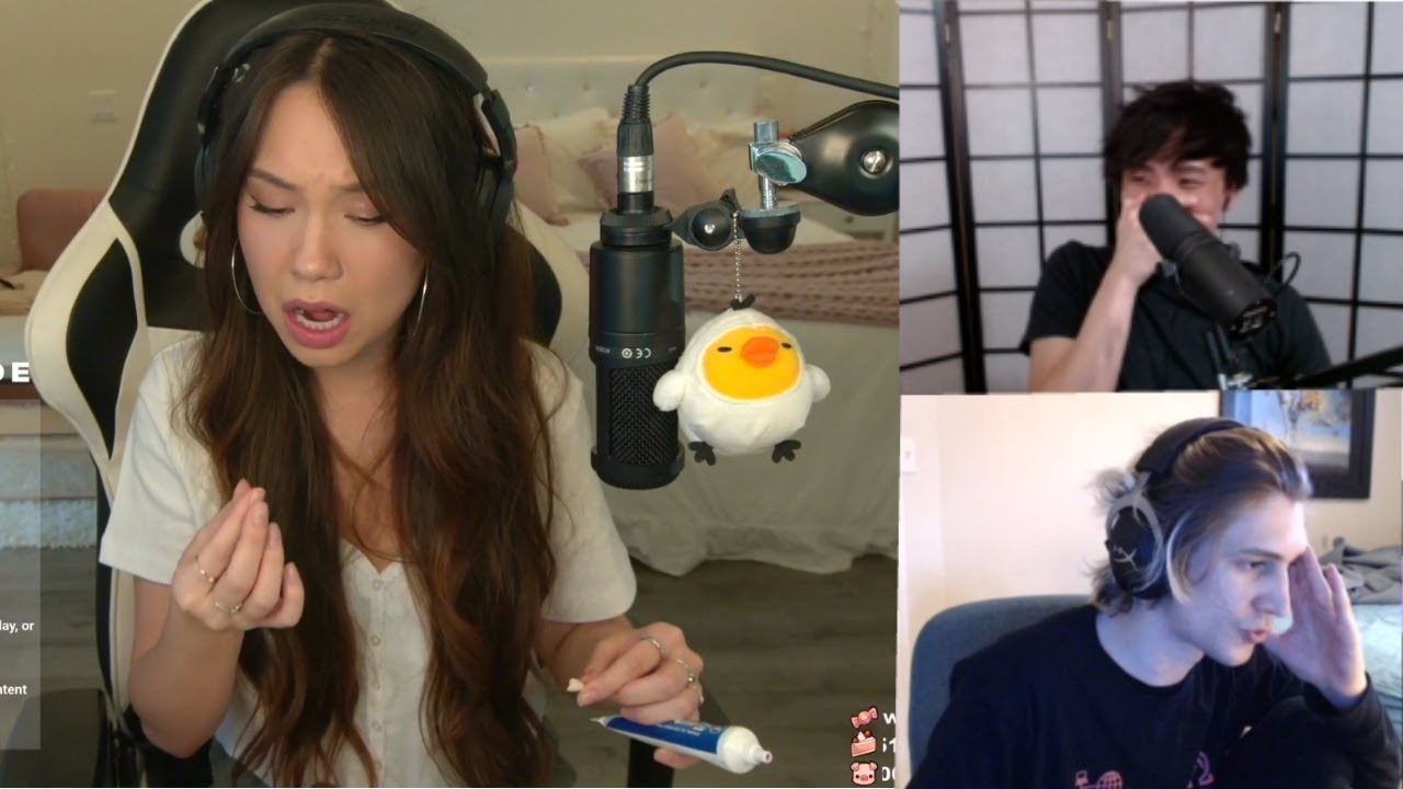 Jodi tastes denture glue for the first time | OTV worst wingmen  | xQc and Ninja argue on Among Us