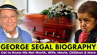 George segal funeral, his wife, family ...