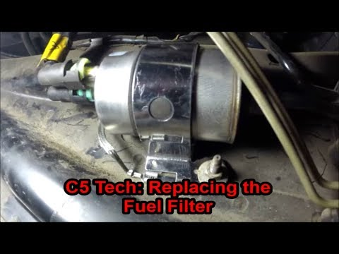 C5 Tech Replacing the Fuel Filter - YouTube