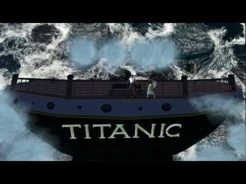 Celine Dion - Titanic 3D - Original Themesong - Secondlife Machinima